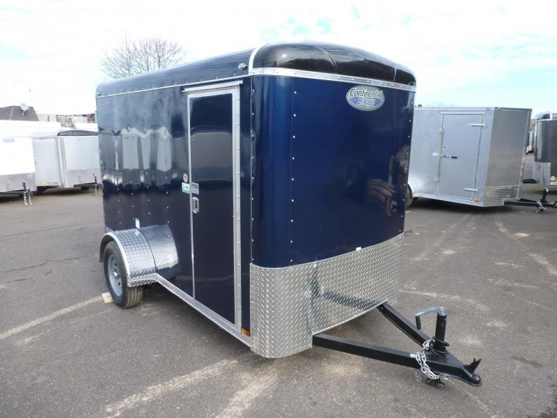 2020 Continental Cargo 5 X 10 3K INDIGO BLUE SUPER TALL Enclosed Cargo Trailer