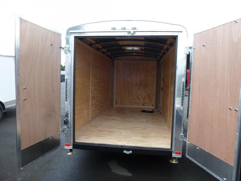 2020 Continental Cargo 6 X 12 3K CARGO WHITE Enclosed Cargo Trailer