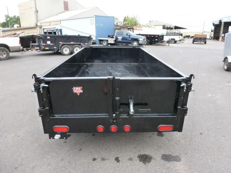 PJ Trailers 5X10 7K DUMP WITH TARP