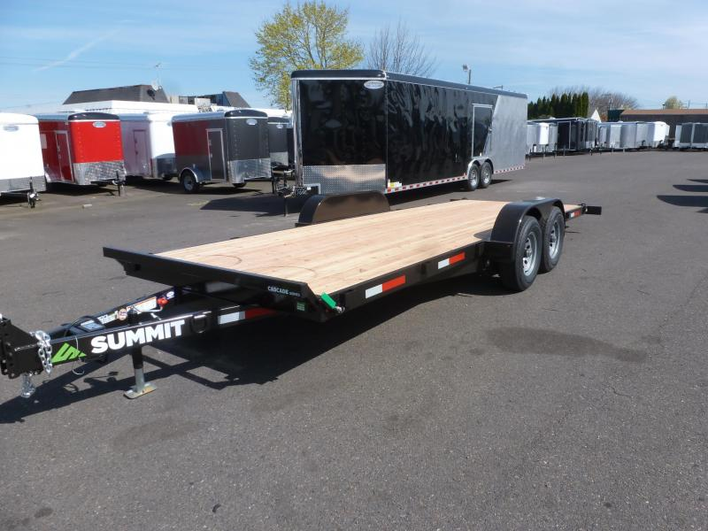 2020 Summit C5TB720TA3 Tilt Flatbed Trailer