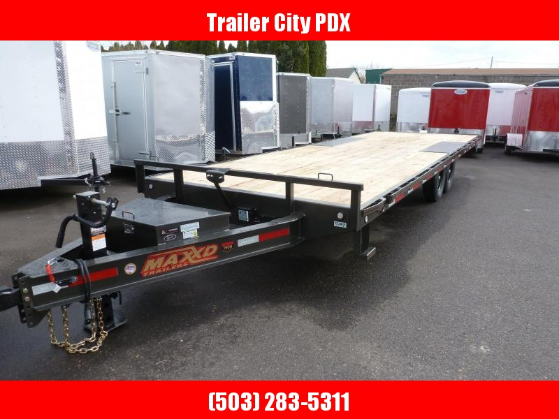 "2020 MAXXD 24' X 102"" 14K I BEAM DECKOVER Equipment Trailer"