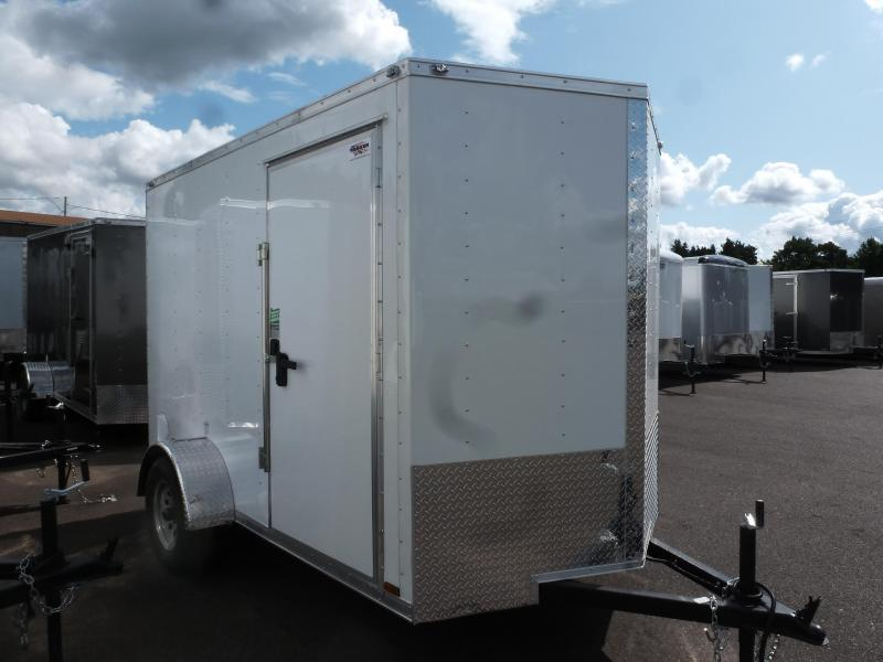 2020 Continental Cargo 6X10 3K V-SERIES WHITE Enclosed Cargo Trailer