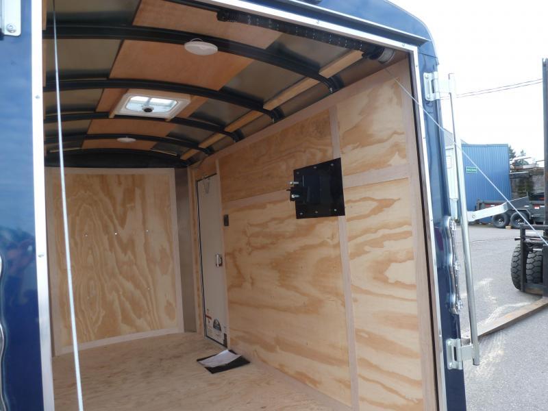 2020 Continental Cargo 5 X 10 3K RAMP DOOR INDIGO BLUE Enclosed Cargo Trailer