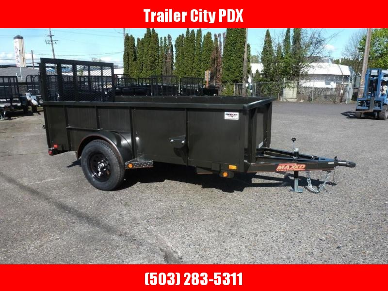 "MAXXD 10'X61"" SINGLE AXLE UTILITY"
