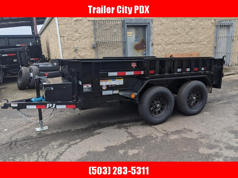 2020 PJ Trailers 5x10 Dump Trailer with Ramps