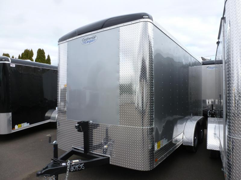 2020 Continental Cargo 7 X 14 7K DIAMOND ICE TALL RAMP Enclosed Cargo Trailer