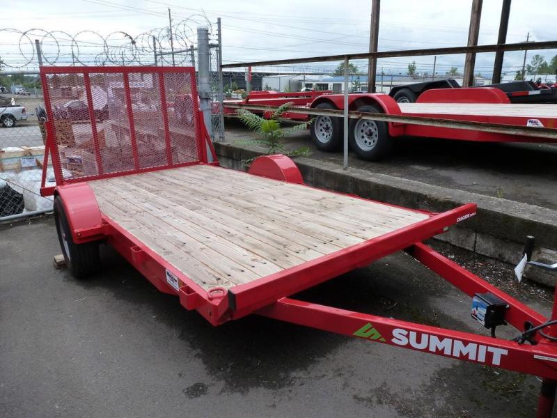 Summit 6 X12 5.2K FLATBED W/RAMP CASCADE