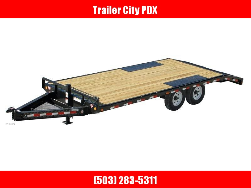 2020 PJ Trailers 8..5 by 24 8 in. I-Beam Deckover (F8) Flatbed Trailer