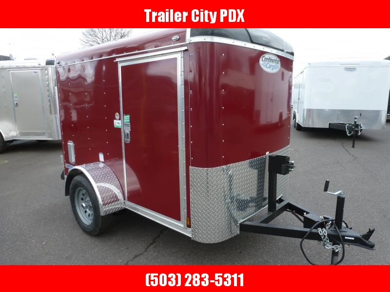 Continental Cargo 5 X 8 3K CARGO TALL BRANDYWINE Enclosed  Trailer
