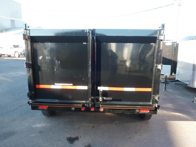2020 MAXXD DHX8316 21K GVWR 4 SIDES Tarp Ramps Dump Trailer