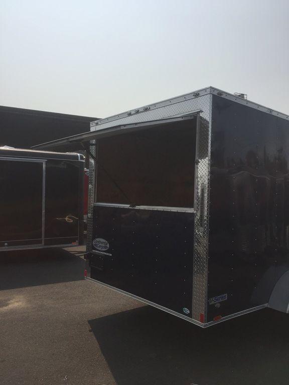 Continental Cargo 7X16 7K CONCESSION DOOR INDIGO BLUE