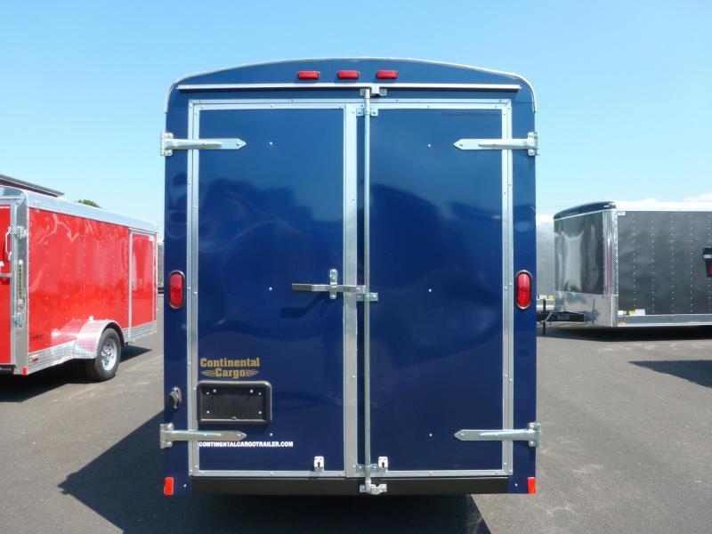 2020 Continental Cargo 6 X 12 3K CARGO INDIGO BLUE Enclosed Cargo Trailer