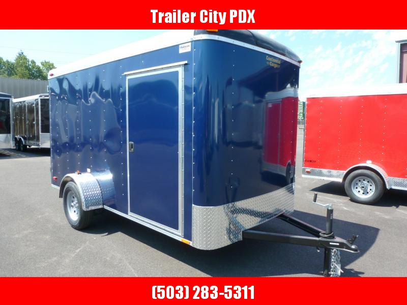 2020 Continental Cargo 6 X 12 3K CARGO INDIGO BLUE Enclosed Cargo Trailer