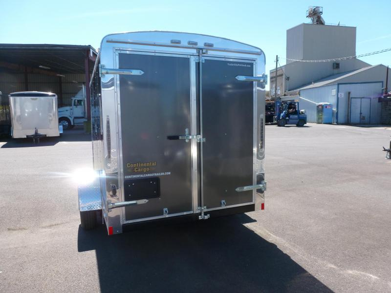2020 Continental Cargo 6 X 19 3K CARGO CHARCOAL Enclosed Cargo Trailer