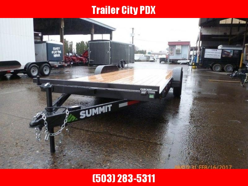 Summit 7X18 10K FLATBED CASCADE 5""