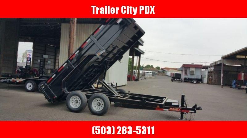 Maxey 83X14 14K Dump w/Tarp, 10K Jack, Rear Support Stands