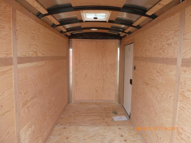 2020 Continental Cargo 5 X 10 3K 3K RAMP SUPER TALL DIAMOND ICE Enclosed Cargo Trailer