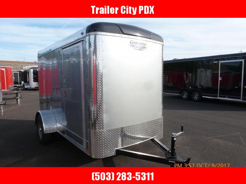 2020 Continental Cargo 5 X 10 3K 3K RAMP SUPER TALL DIAMOND ICE Enclosed Cargo Trailer