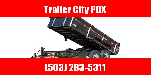 "2020 MAXXD D8X - 83"" Heavy Duty  Dump Trailer"