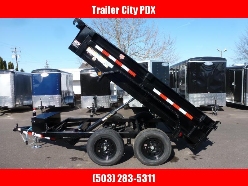 2020 PJ Trailers 5 X 10 7K UTILITY DUMP Dump Trailer