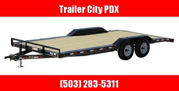 2020 PJ Trailers 5 in. Channel Buggy Hauler (B5) Flatbed Trailer