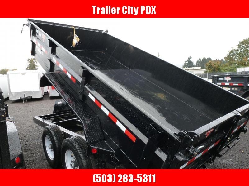 2020 PJ Trailers 7 X 14 14K LOW PRO DUMP Dump Trailer