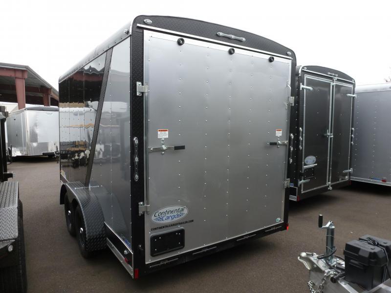 Continental Cargo 7 X 14 7K TALL RAMP STEALTH 2 TONE