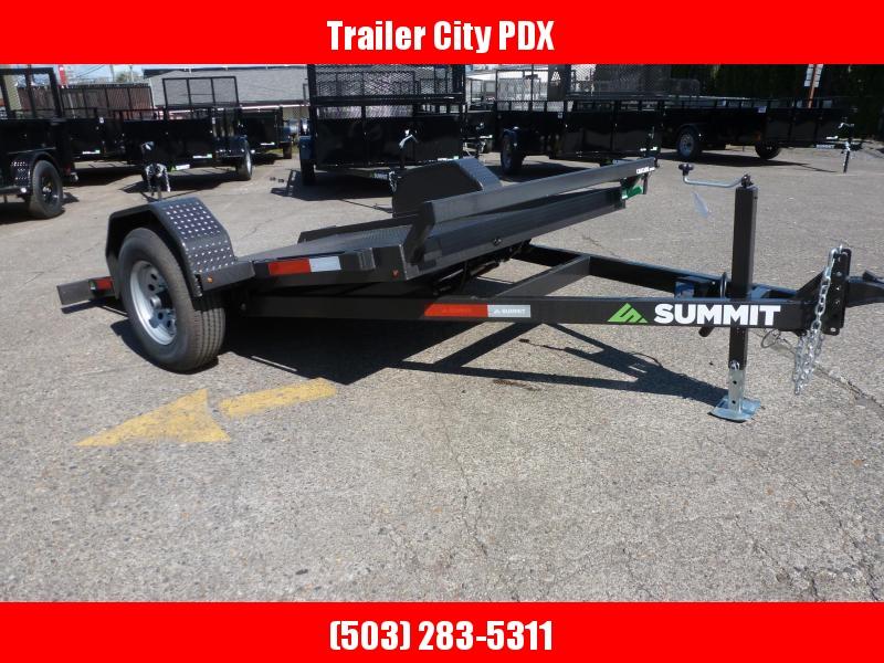 2020 Summit 6 X 10 5K PAN TILT BED Flatbed Trailer