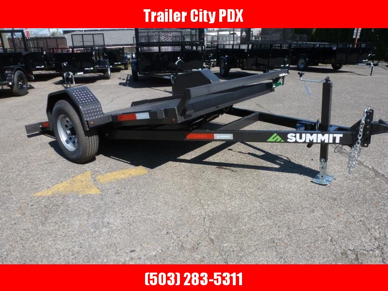 2020 Summit 6 X 10 5K PAN TILT BED Flatbed Trailer