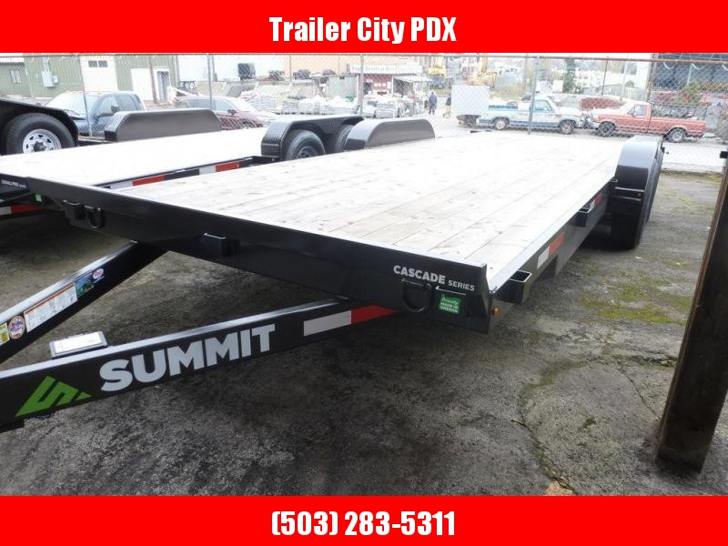 Summit 7X20 20 10K FLATBED CASCADE