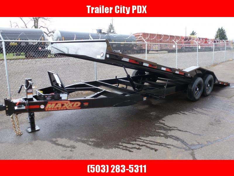 "2020 MAXXD T6X - 24' X 102"" 14K CHANNEL POWER Tilt Trailer Flatbed Trailer"