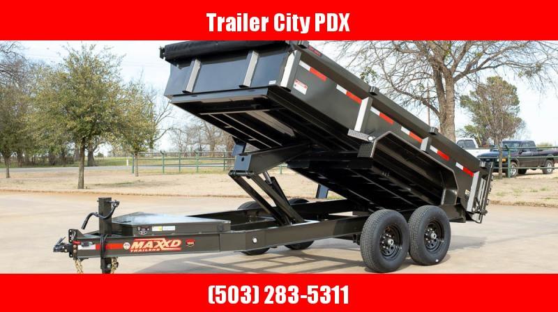2020 MAXXD 7 X 14 14K DUMP 3FT SIDES Dump Trailer