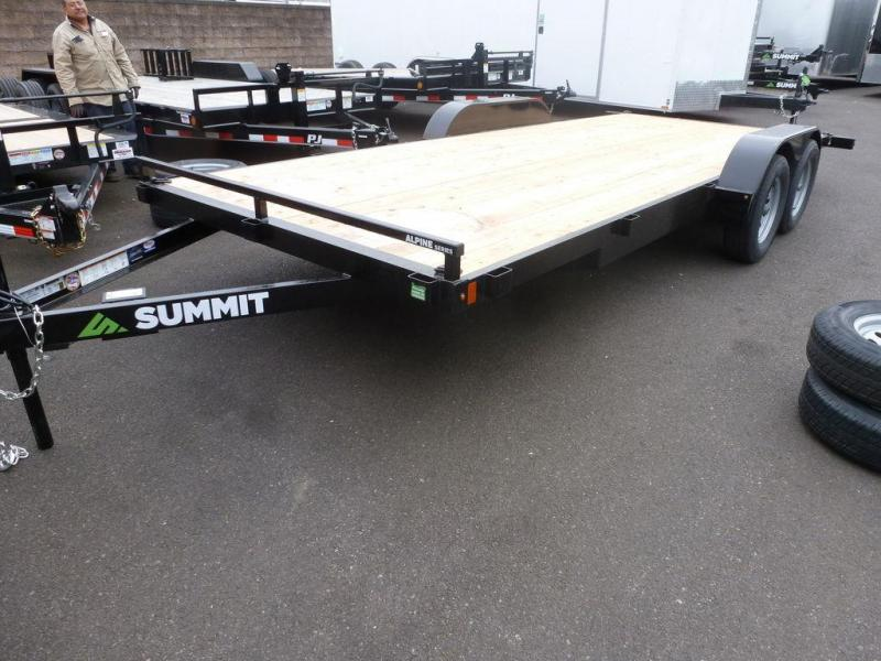 Summit 7X18 7K FLATBED ALPINE