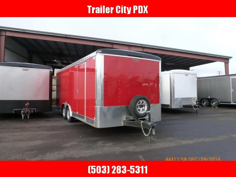 2020 Continental Cargo 8 x 20 10k TALL CAR HAULER Enclosed Cargo Trailer