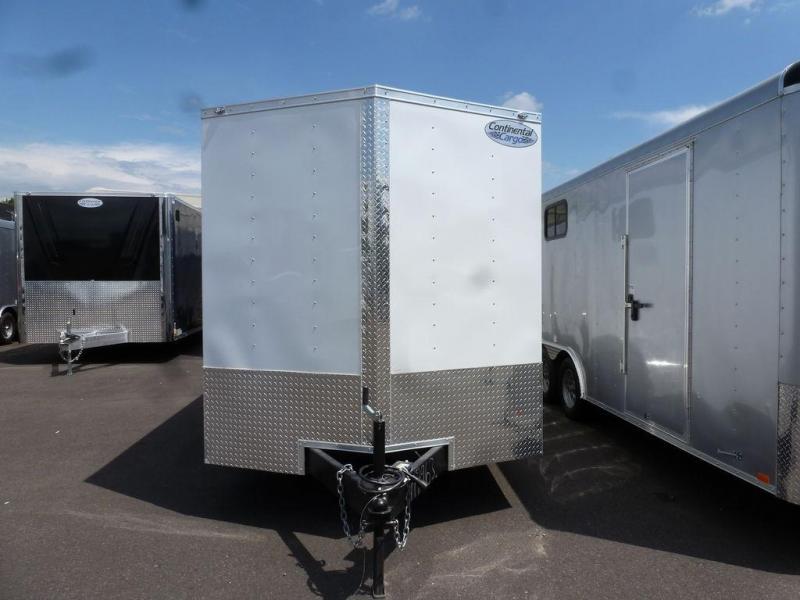 Continental Cargo 7X16 7K V-SERIES TALL RAMP WHITE