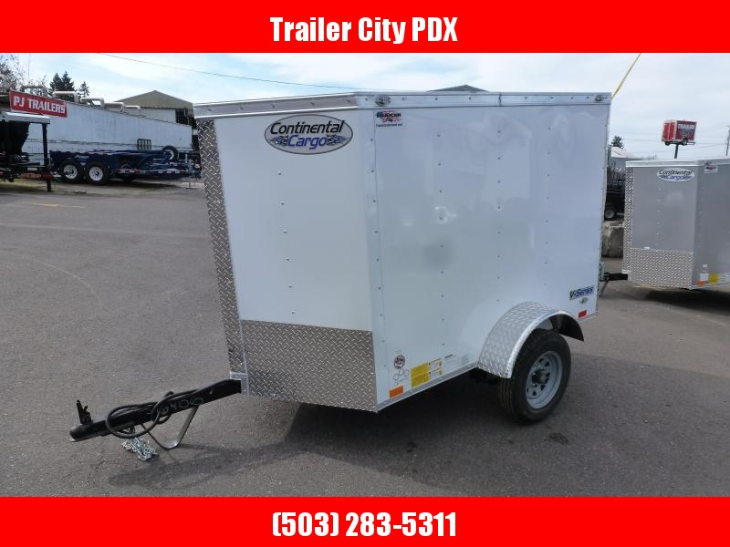 2020 Continental Cargo 4X6 V-Series Enclosed Cargo Trailer