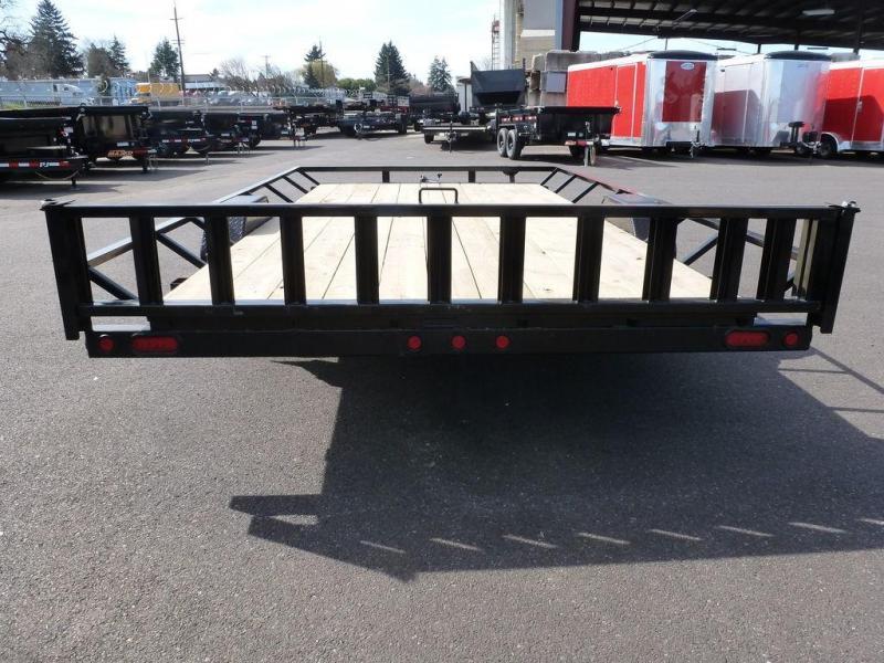 "MAXXD 83""X14 5K Single Axle ATV Trailer w/Brakes"