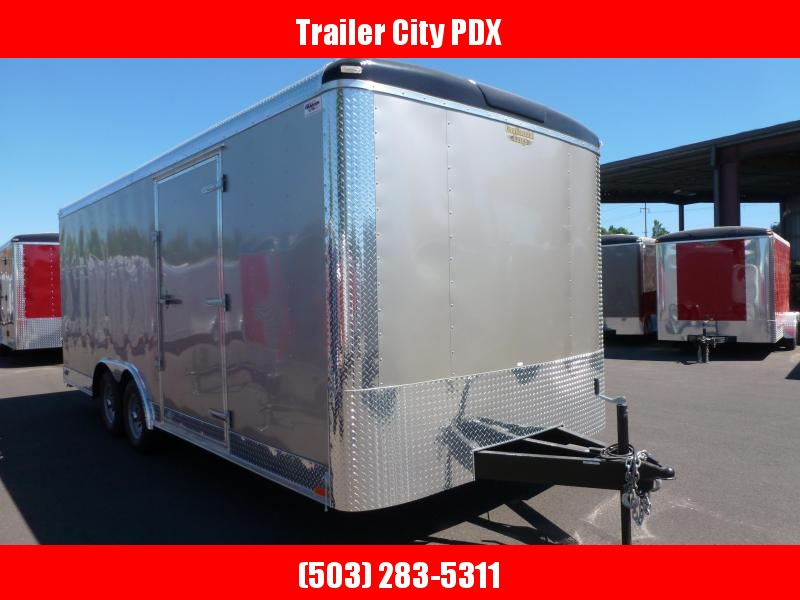 2020 Continental Cargo 8.5 X 20 7K RAMP CHAMPAGNE BEIGE TALL Enclosed Cargo Trailer