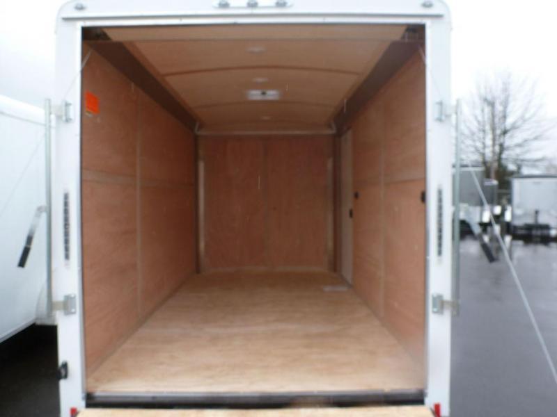 Continental Cargo 7X12 7K RAMP TALL WHITE
