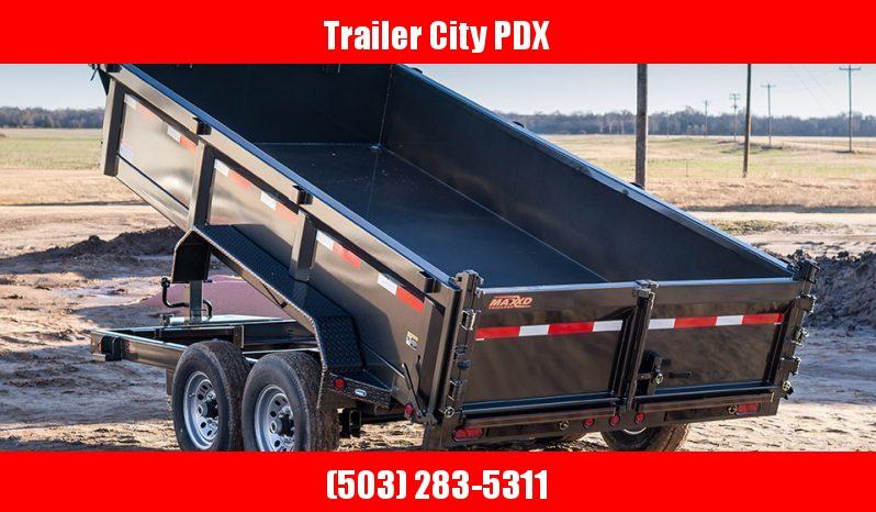 """2020 MAXXD D8X - 14' X 83"""" Heavy Duty Dump Trailer Dump Trailer"""