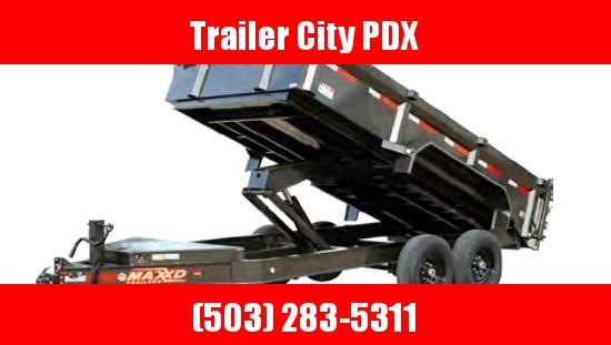 2020 MAXXD 7 X 14 14K DUMP W/4FT SIDES Dump Trailer
