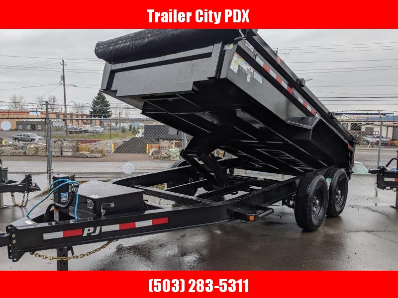 2020 PJ Trailers 14' x 83 in. 14k Low Pro Dump (DL) Dump Trailer