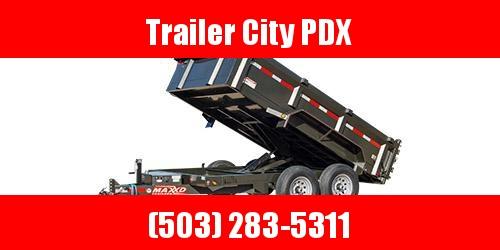 2020 Continental Cargo DMX - 83 Classic Dump Trailer Enclosed Cargo Trailer