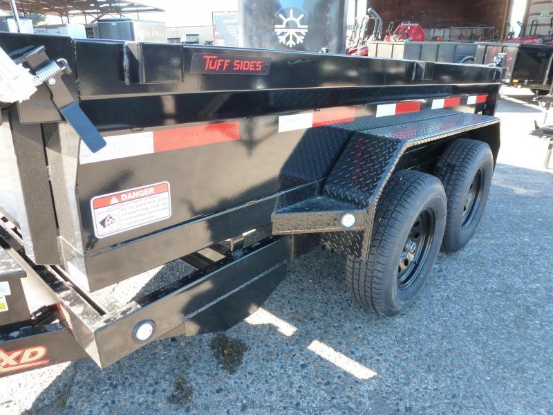 MAXXD 5 X 10 7K Scissor Lift Dump  TARPS. BLACK