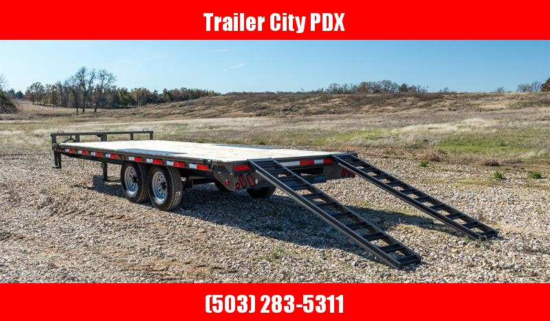 "2020 MAXXD DOX - 24' X 102"" 14K I-Beam Deckover Trailer Flatbed Trailer"