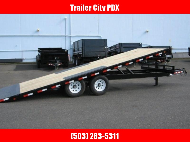 PJ Trailers 8X22 14K DECKOVER TILT