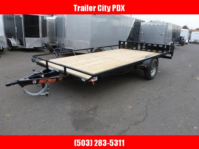 "MAXXD 83""X12 3K Single Axle ATV Trailer"