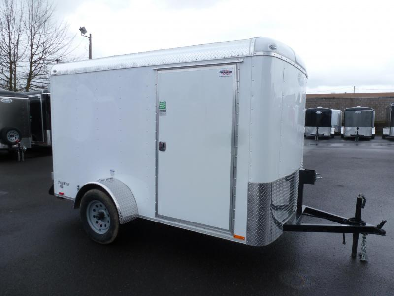 2020 Continental Cargo 5 X 10 3K SUPER TALL WHITE CARGO Enclosed Cargo Trailer