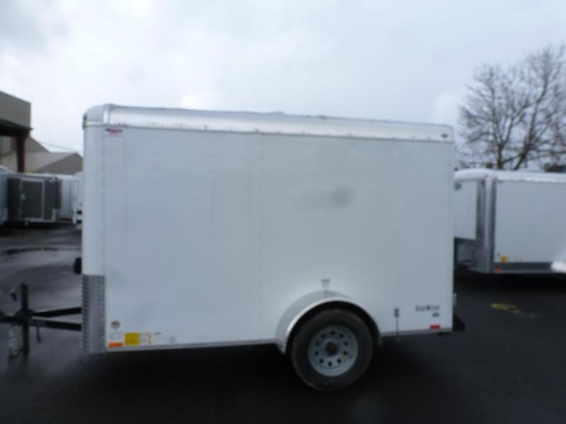 2020 Continental Cargo 5 X 10 3K SUPER TALL WHITE CARGO Enclosed Cargo Trailer