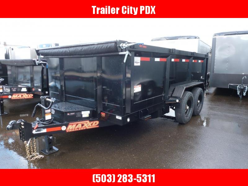 """2020 MAXXD D8X - 83"""" Heavy Duty Dump Trailer Dump Trailer"""